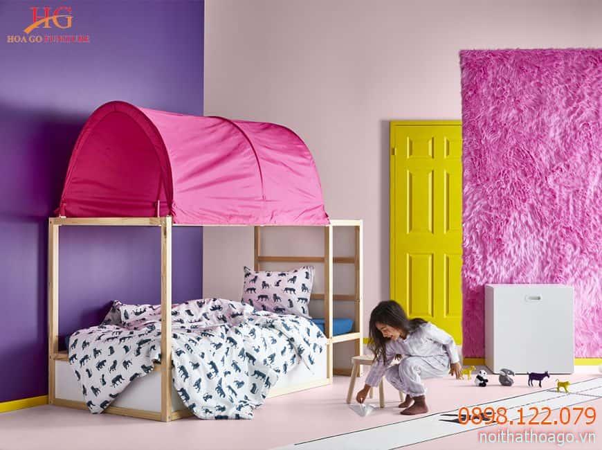 Trang trí nội thất phòng em bé phù hợp giúp trẻ phát triển nhận thức và phát huy năng lực sáng tạo