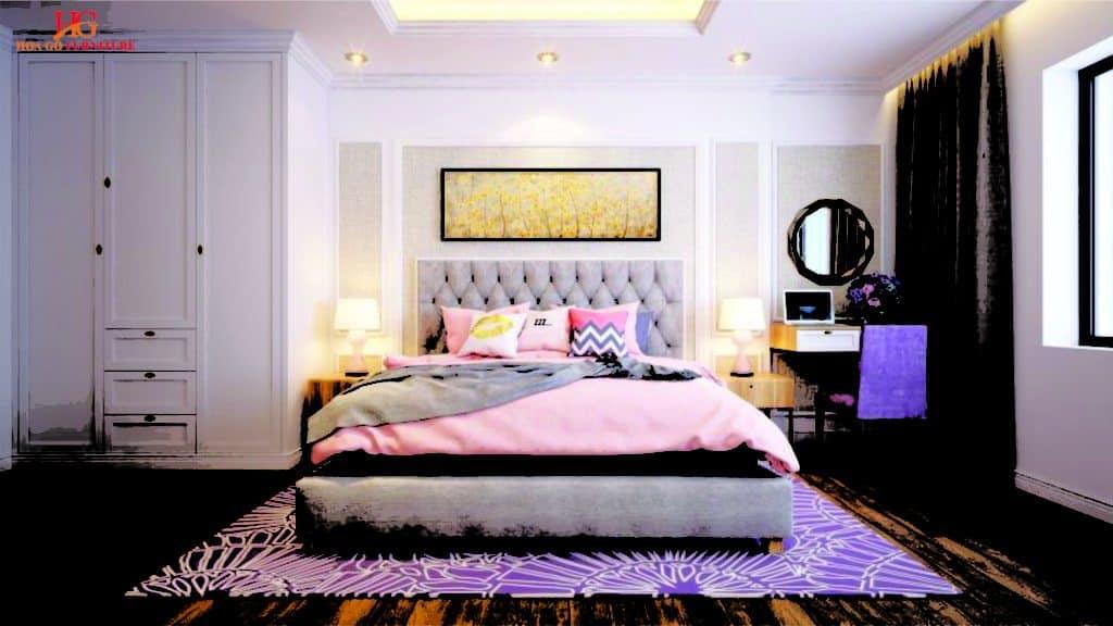 Chọn gam màu phù hợp không gian phòng ngủ