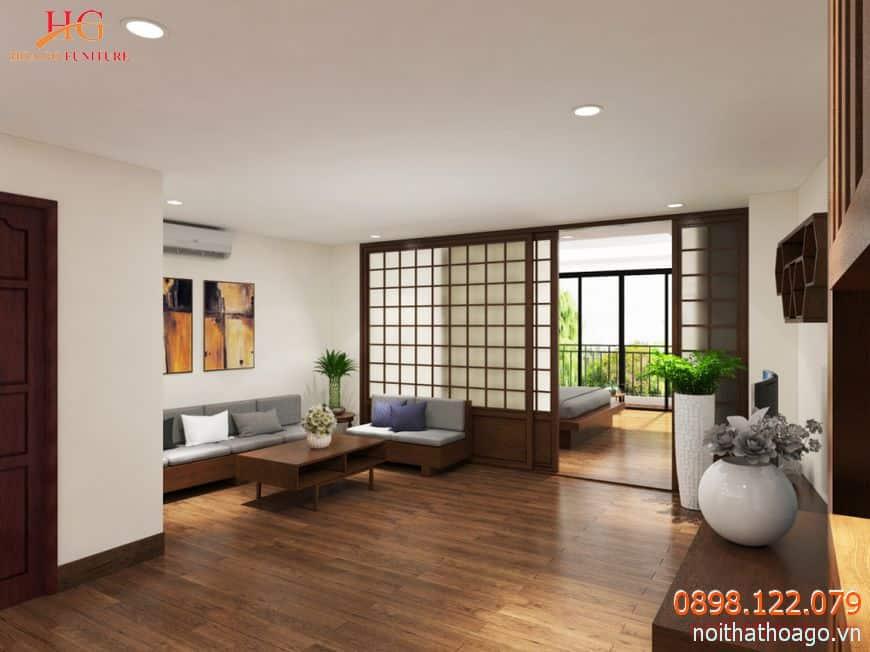 cua lua giup khong gian ngoi nha sang sua rong rai hon 1024x768 - Kiến tạo không gian nhà ở tinh tế với vách ngăn trang trí kiểu Nhật Bản