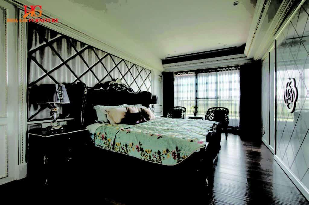 nội thất phòng ngủ kiểu tân cổ điển tại TPHCM 10
