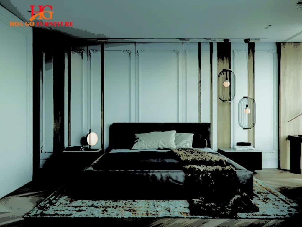 thiết kế nội thất phòng ngủ kiểu tân cổ điển tại TPHCM 4