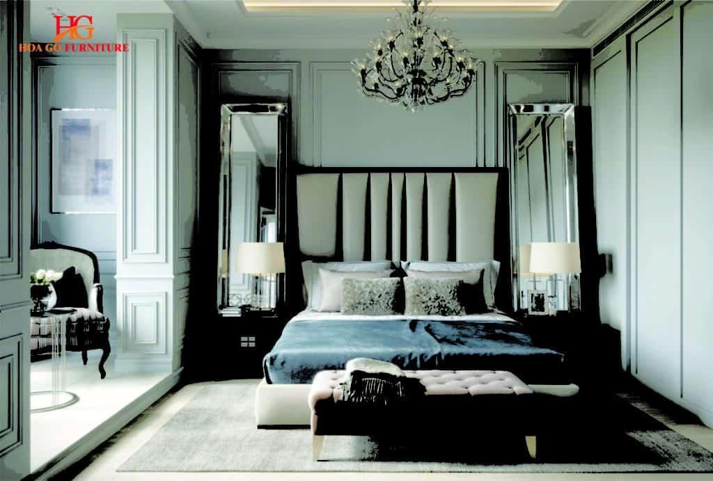 nội thất phòng ngủ kiểu tân cổ điển tại TPHCM 5