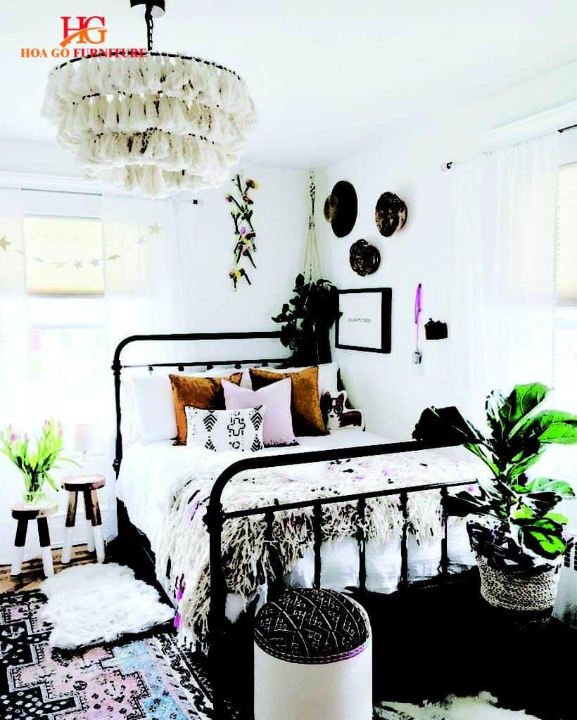 nội thất phòng ngủ phong cách vintage 2