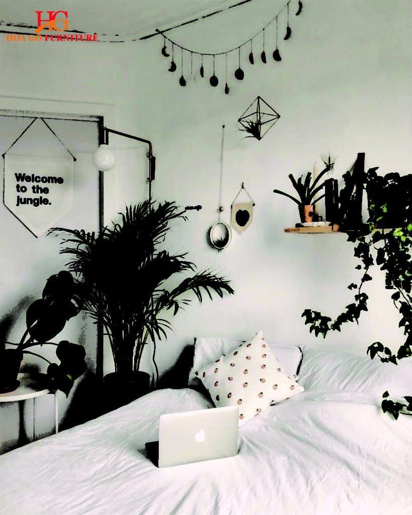 nội thất phòng ngủ phong cách vintage 4
