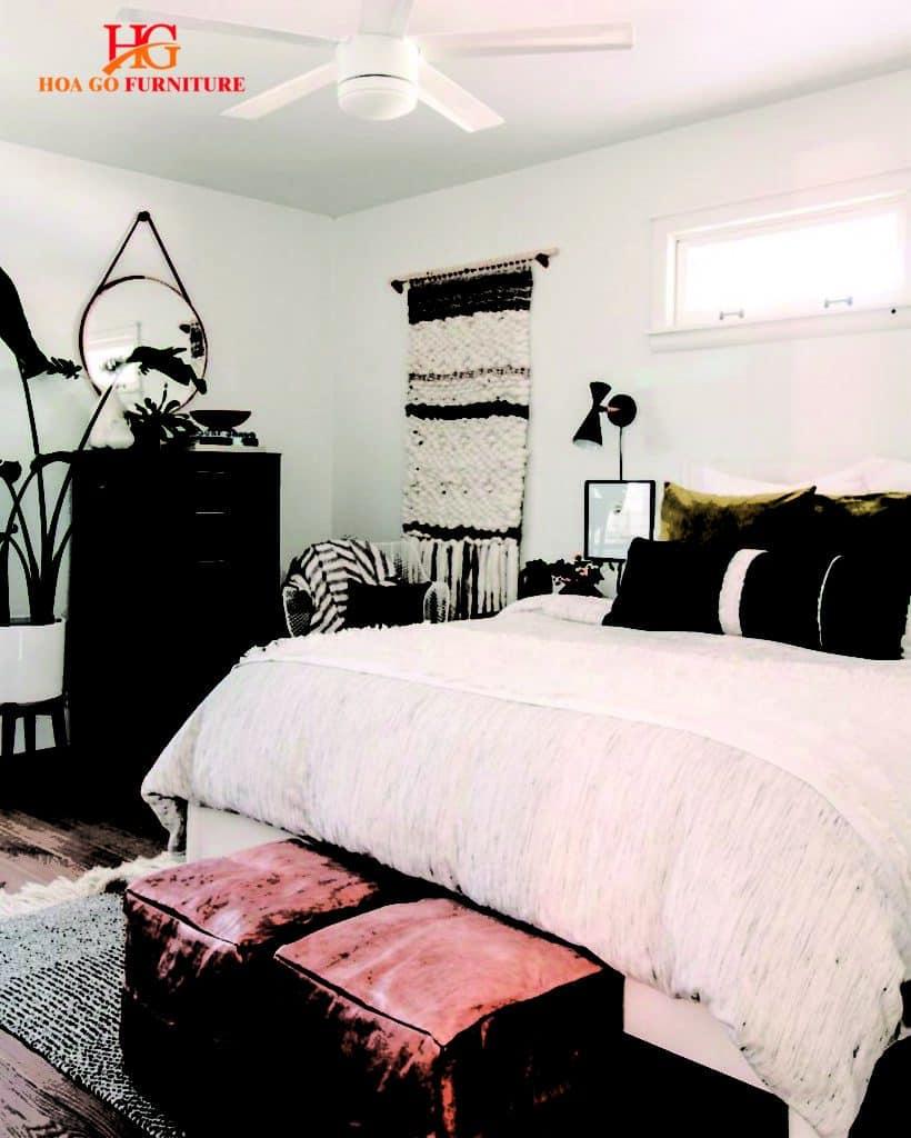 nội thất phòng ngủ phong cách vintage 5