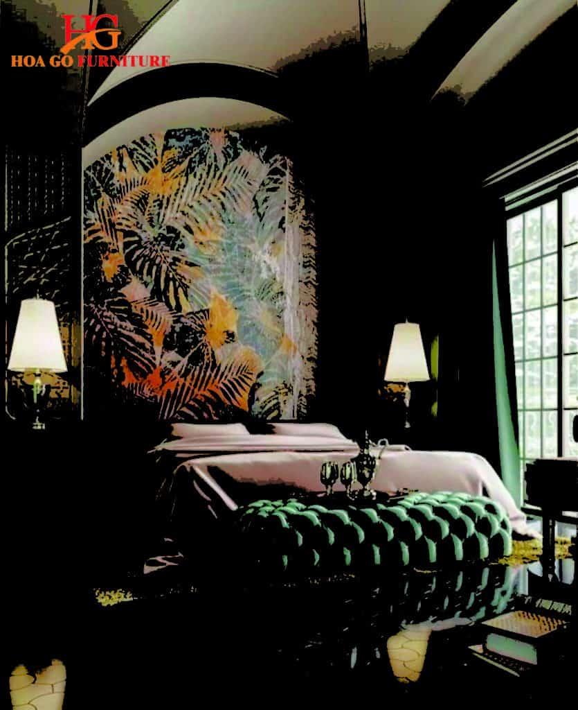 nội thất phòng ngủ phong cách cổ điển TPHCM 2