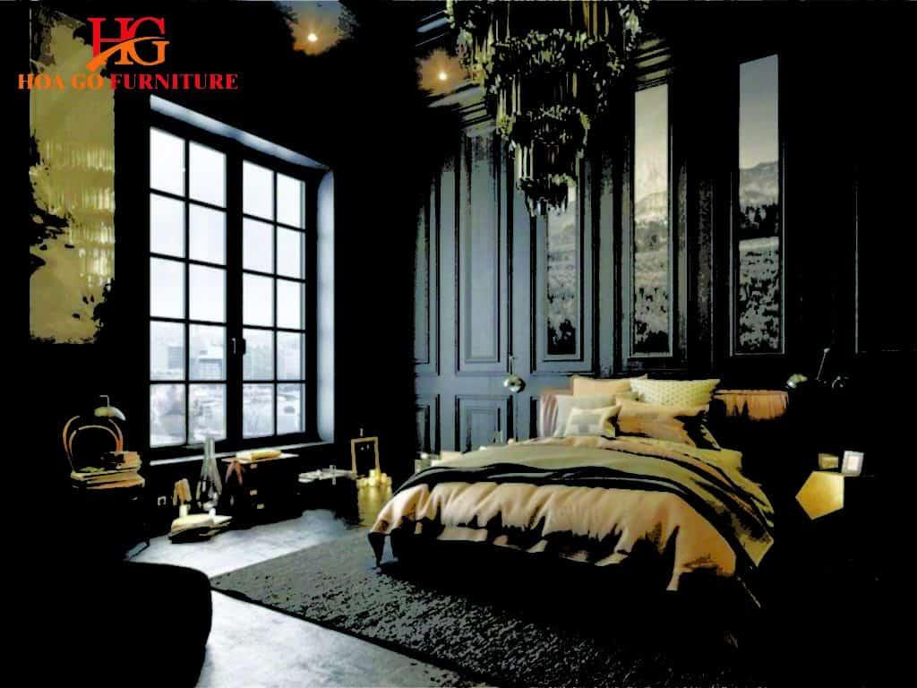 phong ngu phong cach co dien 7 1024x768 - 50+ mẫu thiết kế nội thất phòng ngủ không gây cảm giác nhàm chán
