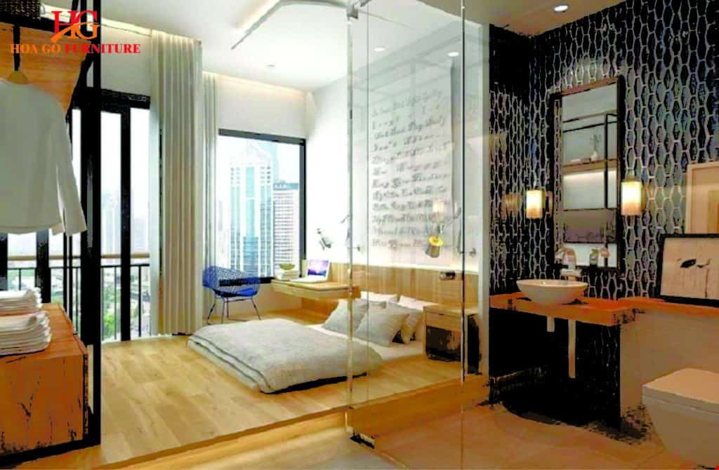 phòng ngủ phong cách hiện đại TPHCM 15