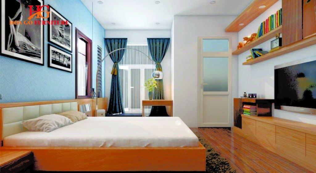 phòng ngủ phong cách hiện đại TPHCM 2
