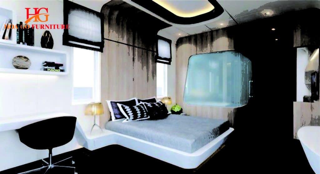 phòng ngủ phong cách hiện đại TPHCM 4