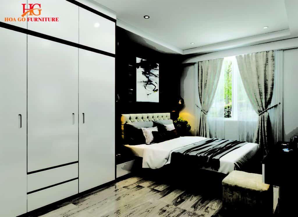 phòng ngủ phong cách hiện đại TPHCM 9