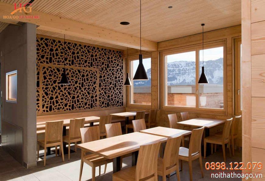 Chọn vách ngăn CNC bằng gỗ để khiến căn phòng thêm tinh tế, sang trọng