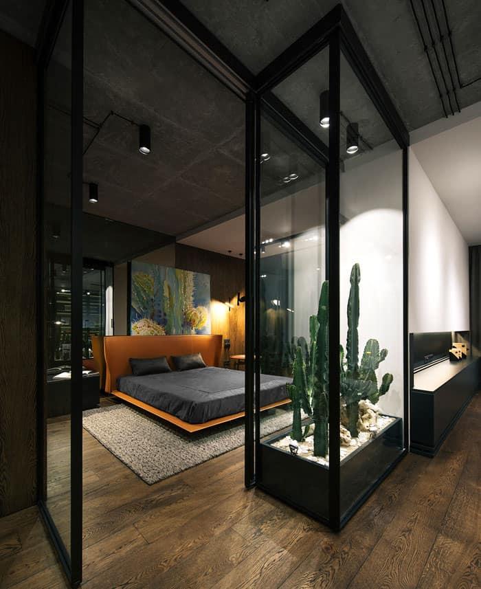 ý tưởng nội thất phòng ngủ nam 11