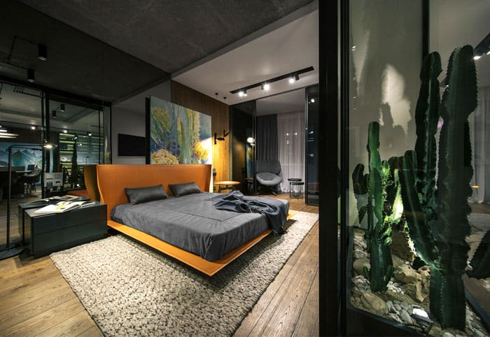 ý tưởng nội thất phòng ngủ nam 12