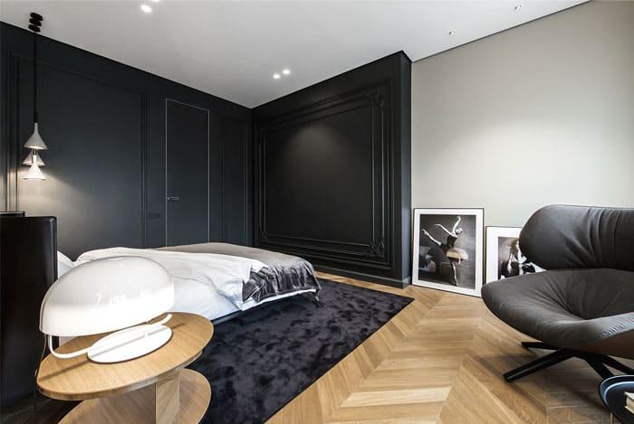 ý tưởng nội thất phòng ngủ nam 13