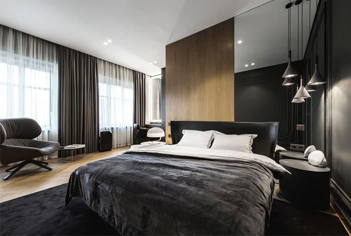 ý tưởng nội thất phòng ngủ nam 14