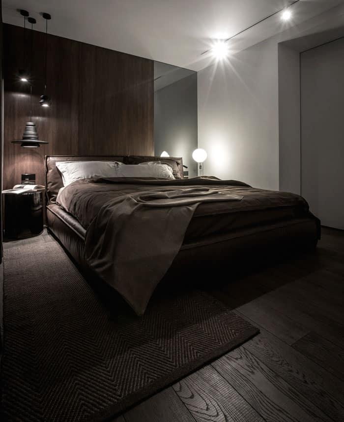ý tưởng nội thất phòng ngủ nam 15