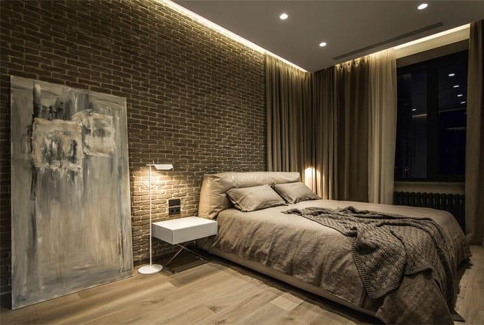 ý tưởng nội thất phòng ngủ nam 17