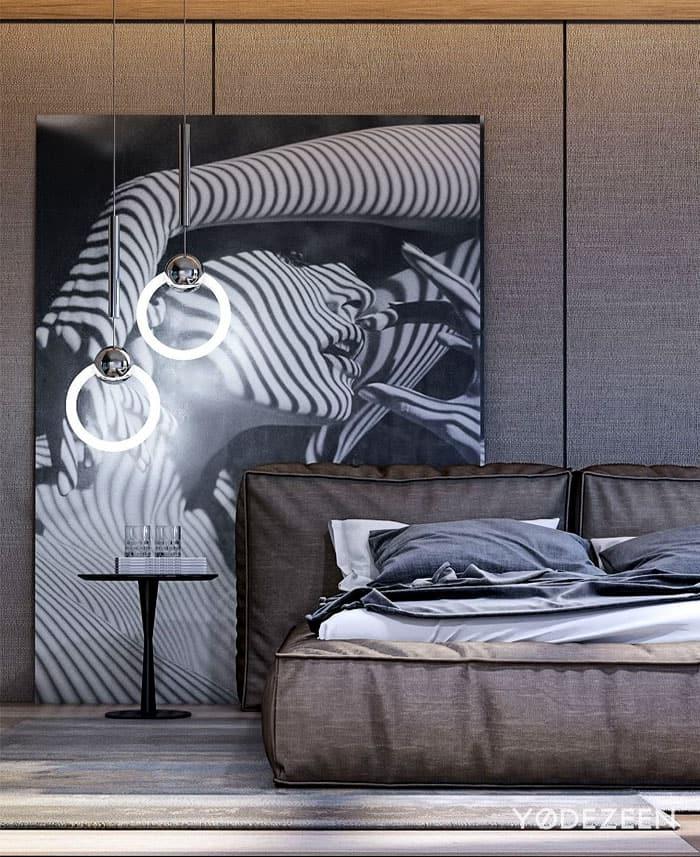ý tưởng nội thất phòng ngủ nam 1