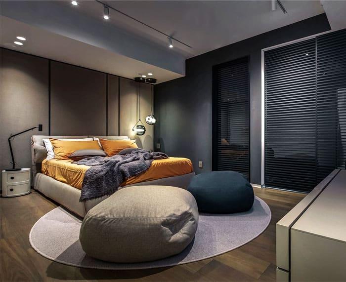 ý tưởng nội thất phòng ngủ nam 18