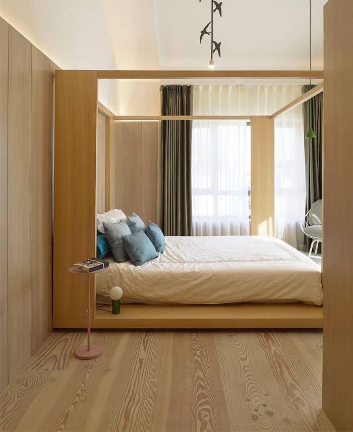 ý tưởng nội thất phòng ngủ nam 23