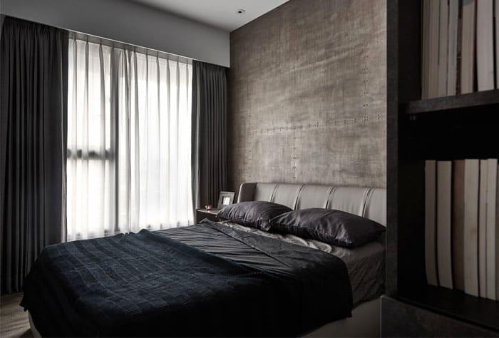 nội thất phòng ngủ cá tính cho nam 2