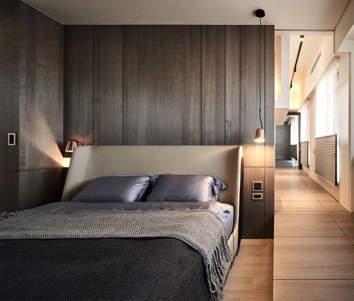 ý tưởng nội thất phòng ngủ nam 6