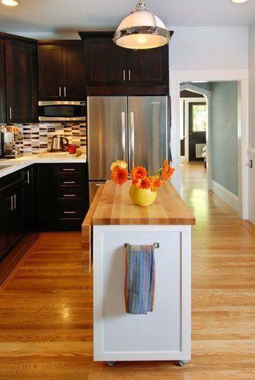 ý tưởng thiết kế nội thất nhà bếp diện tích nhỏ 12
