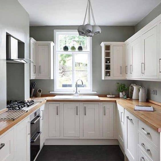 ý tưởng thiết kế nội thất nhà bếp diện tích nhỏ 2