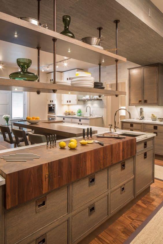 ý tưởng thiết kế nội thất nhà bếp diện tích nhỏ 3