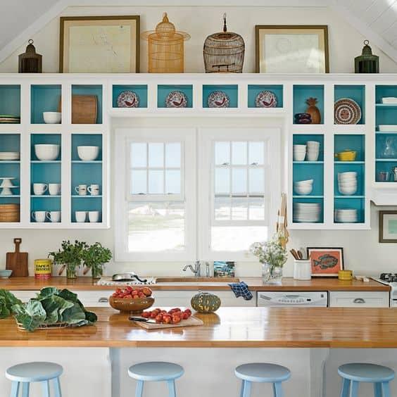 ý tưởng thiết kế nội thất nhà bếp diện tích nhỏ 5