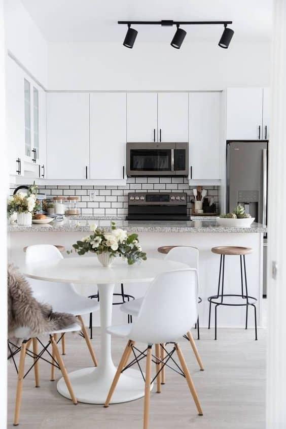 ý tưởng thiết kế nội thất nhà bếp diện tích nhỏ 6