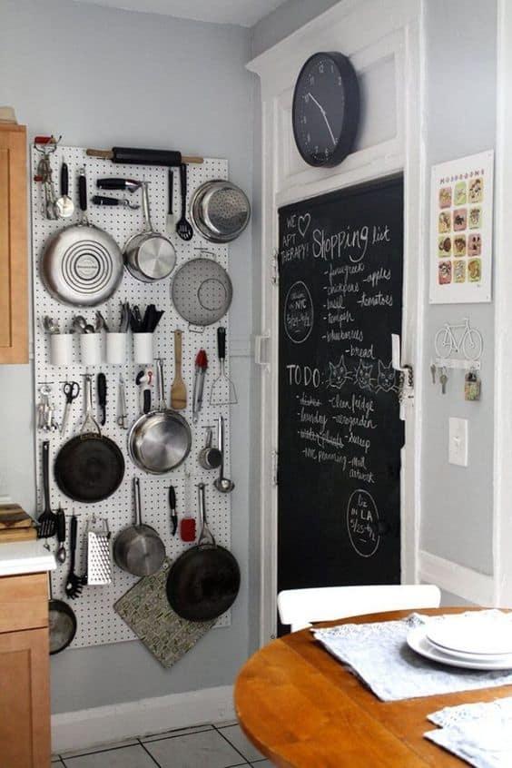 ý tưởng thiết kế nội thất nhà bếp diện tích nhỏ 9