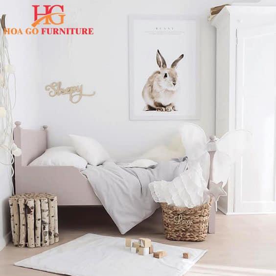sử dụng gam màu trắng mang lại cảm giác dễ chịu cho phòng ngủ