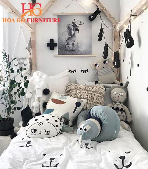 bí quyết thiết kế nội thất phòng ngủ em bé