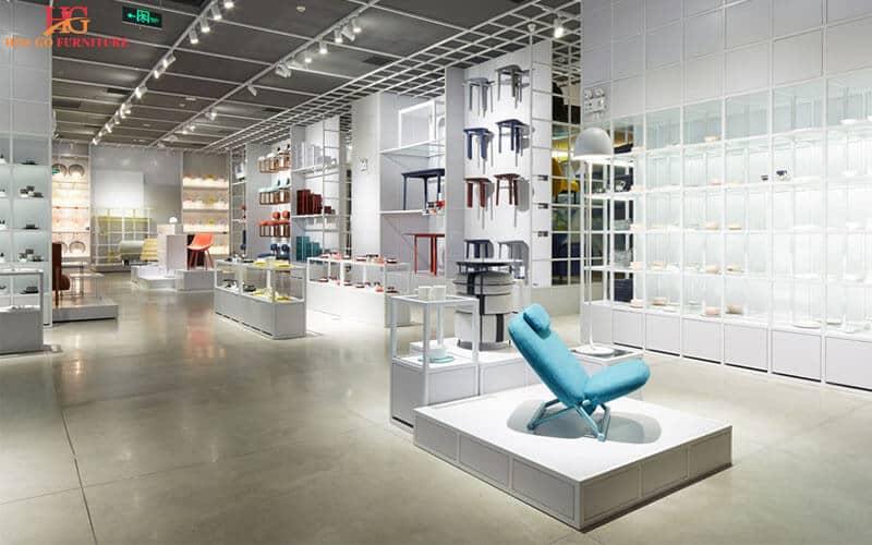 Hướng dẫn tổng quan thiết kế nội thất showroom 11