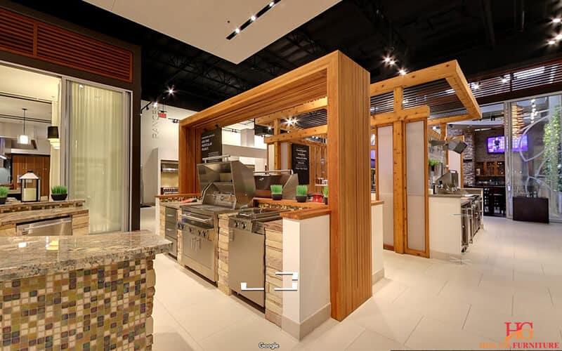 Thiết kế phòng trưng bày nhà bếp