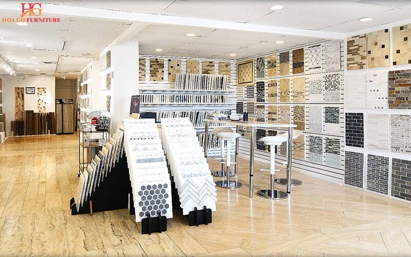 Thiết kế showroom phòng trưng bày gạch