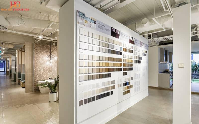 Hướng dẫn tổng quan thiết kế nội thất showroom 3