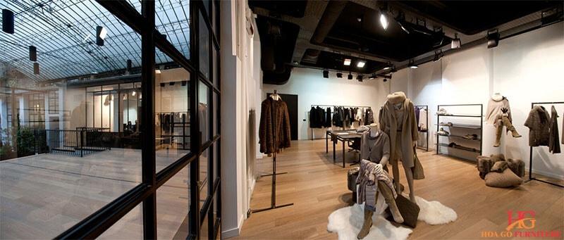 Hướng dẫn tổng quan thiết kế nội thất showroom 7