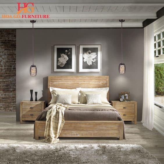 Phòng ngủ phong cách thoải mái, phóng khoáng