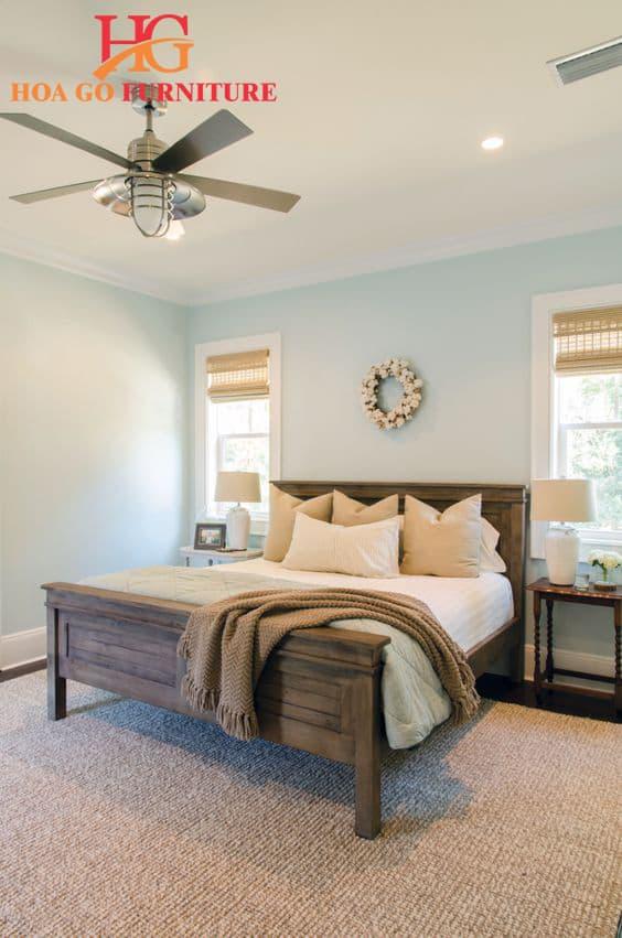 Phòng ngủ phong cách nhiệt đới