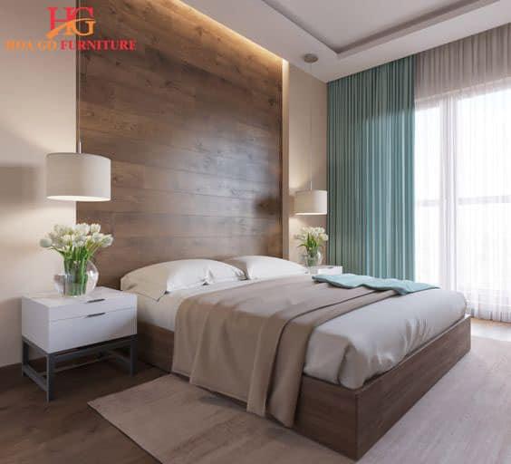sử dụng tone màu phù hợp khi thiết kế nội thất phòng ngủ