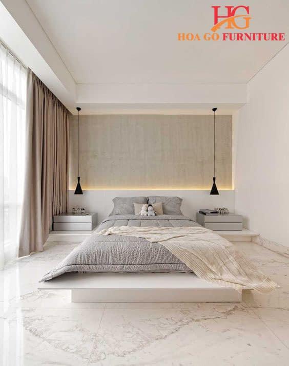 bí quyết thiết kế nội thất phòng ngủ hiện đại