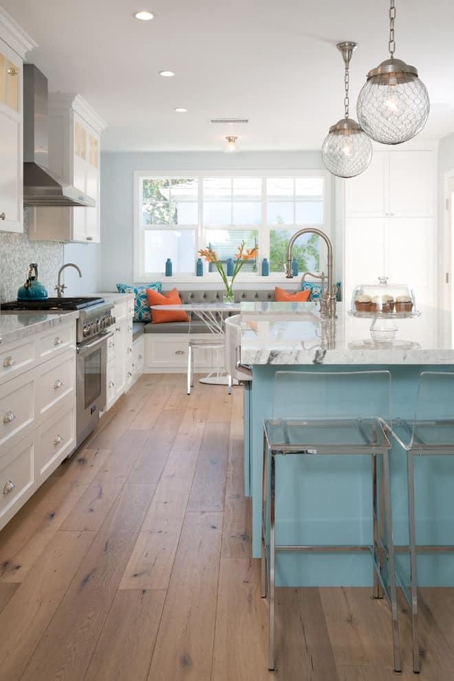 Thiết kế nhà bếp theo phong cách bãi biển