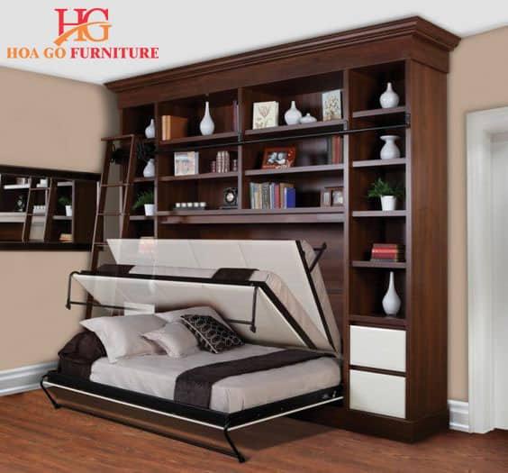 nội thất thông minh tiết kiệm tối đa diện tích chứa đồ
