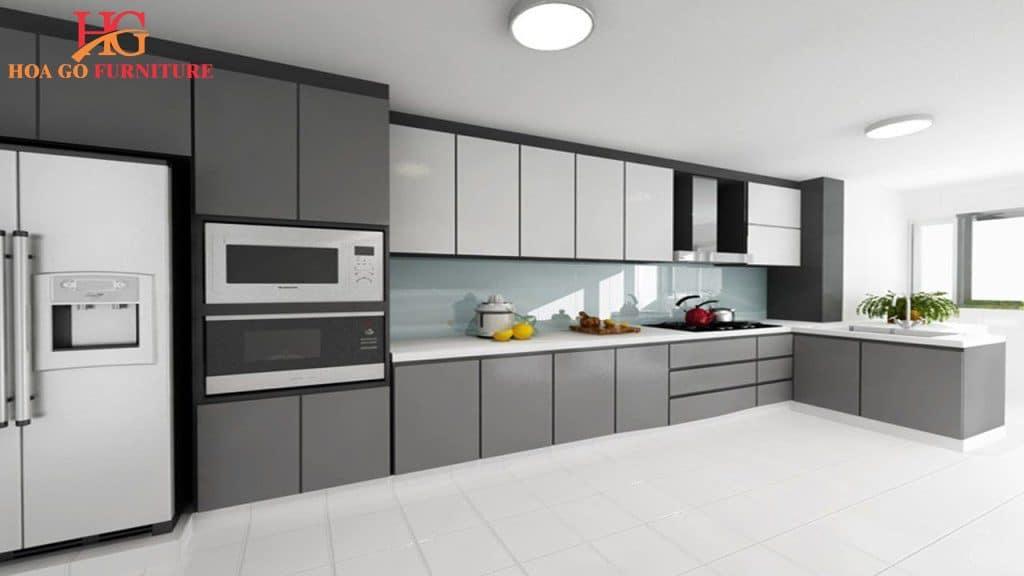 vật dụng đóng vai trò quan trọng để xác định diện mạo nhà bếp