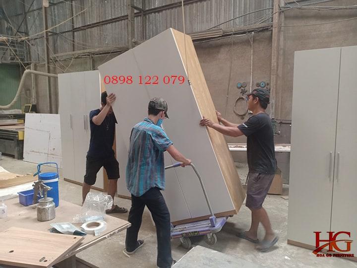Xưởng mộc đóng đồ nội thất giá rẻ theo yêu tại TP.HCM