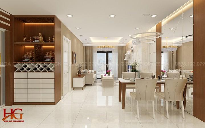 Chuyên thi công nội thất căn hộ TPHCM - Hình ảnh thực tế thi công các căn hộ siêu đẹp