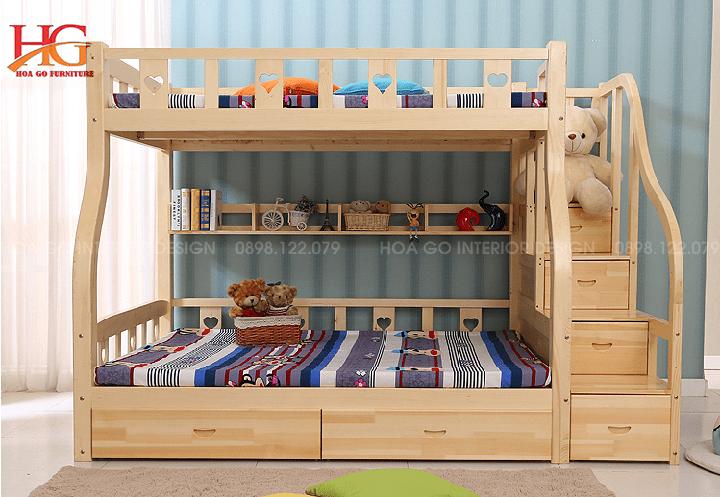 Giường tầng – Giải pháp tiết kiệm diện tích phòng ngủ hiệu quả
